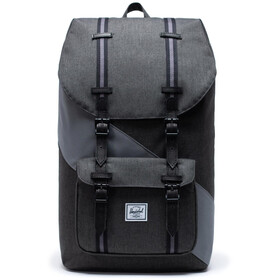 Herschel Little America Rugzak, black crosshatch/quiet shade/periscope